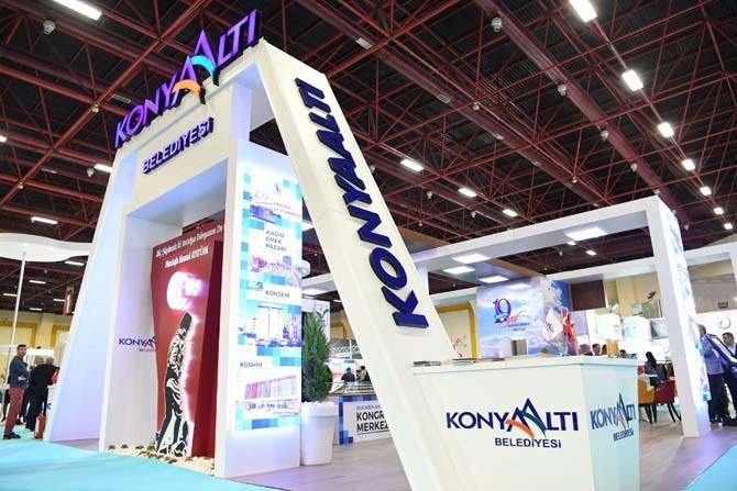 Antalya City Expo'nun en iyisi Konyaaltı Belediyesi