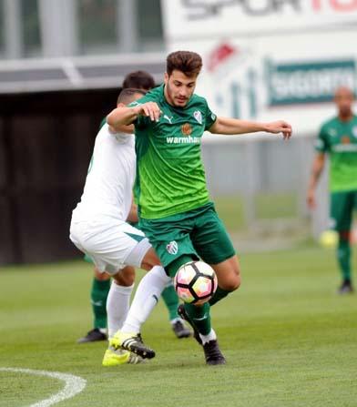 Bursaspor, U21 takımına gol yağdırdı