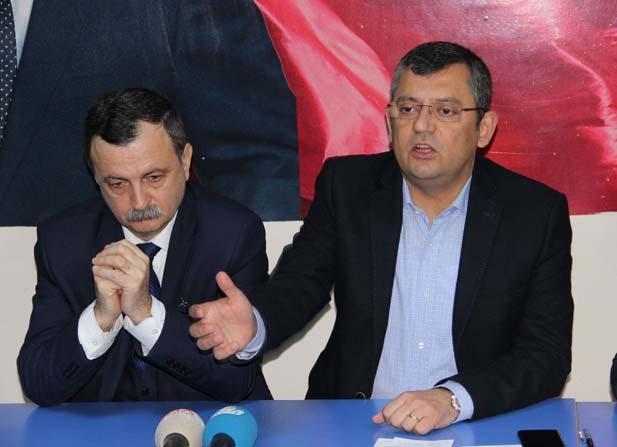 CHP'li Özel gündemi değerlendirdi
