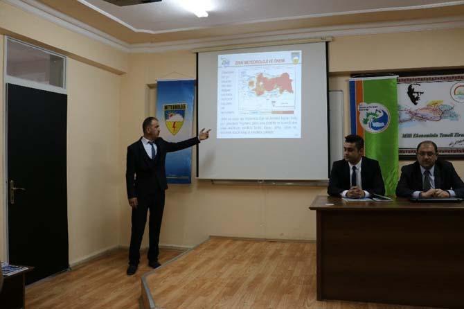 Tarımsal Meteoroloji Konulu Hizmet içi Eğitim Programı düzenlendi