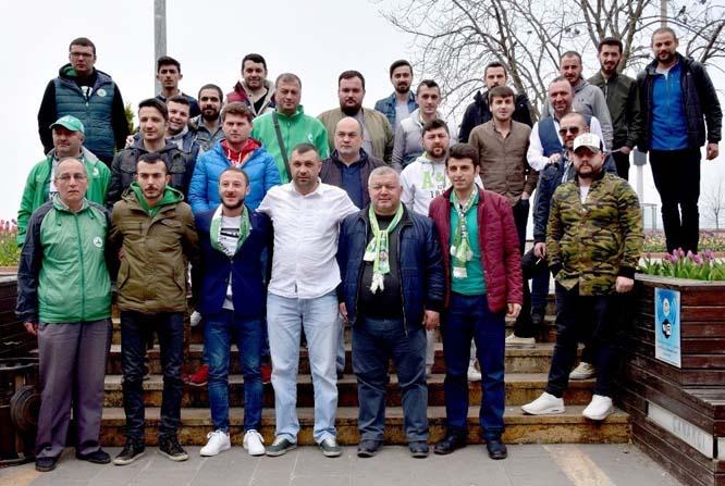 """Giresunspor taraftar grupları futbolculara seslendi: """"Hedefinizden şaşmayın"""""""