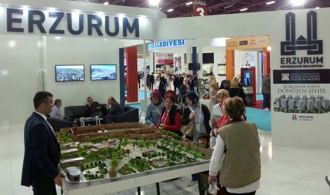 Antalya CITY EXPO'da Erzurum rüzgârı esti
