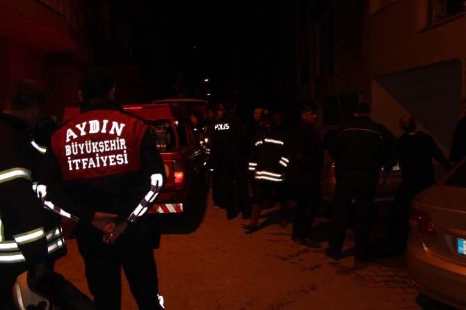 Öğrencilerin kaldığı binada çıkan yangın paniğe neden oldu