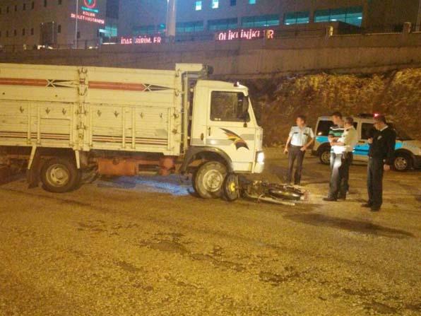 Kozan'da trafik kazası; 1 yaralı