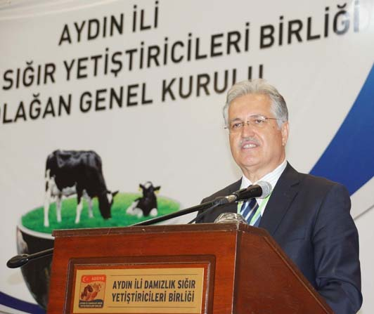 Aydın'da damızlık sığır yetiştiricileri birliğinin genel kurulu yapıldı