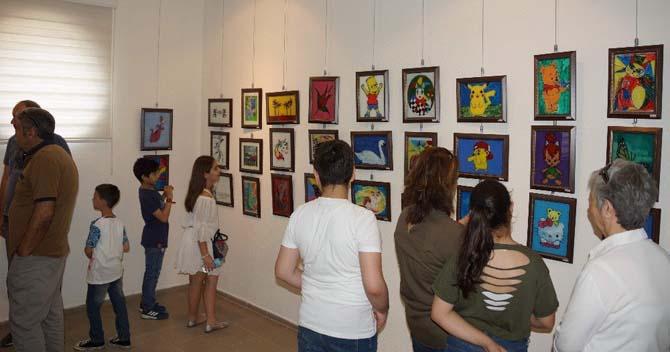 Aydın Özel Değişim Koleji Fotoğraf ve Resim Sergisi büyük ilgi gördü