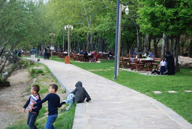 Malatya'da piknik sezonu açıldı