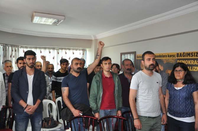 Tunceli'de Deniz Gezmiş ve arkadaşları anıldı