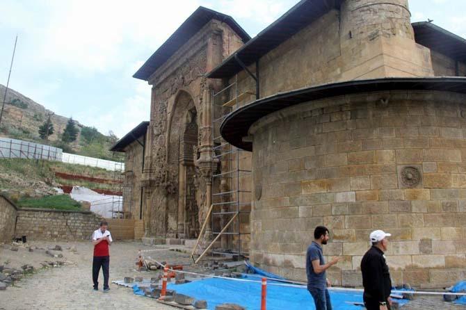 Divriği Ulu Cami'nin restorasyonu 2021 yılında tamamlanacak