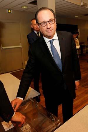 Hollande, oyunu kullandı