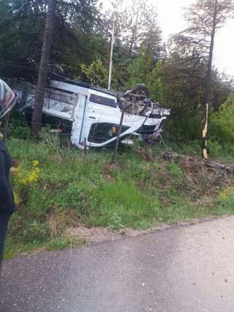 Gediz'de trafik kazası: 1 yaralı