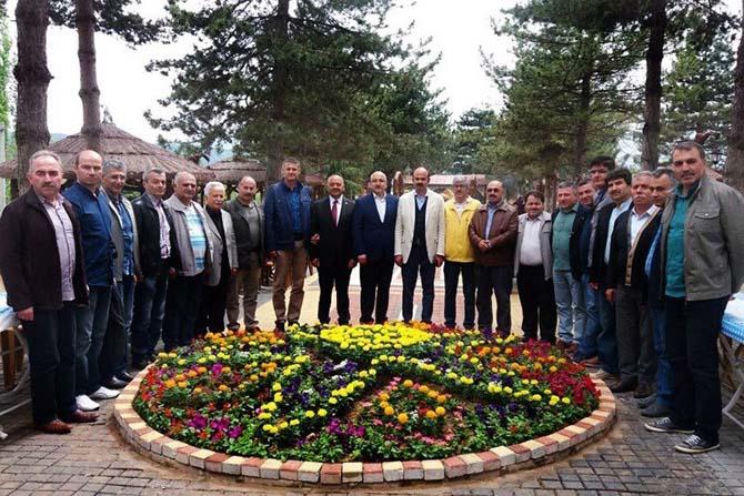 İlçe milli eğitim müdürleri Ortaköy'de buluştu