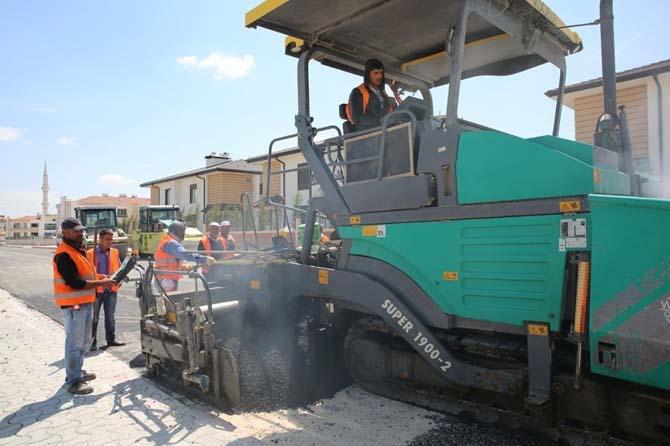 Selçuklu'da asfalt çalışmaları başladı