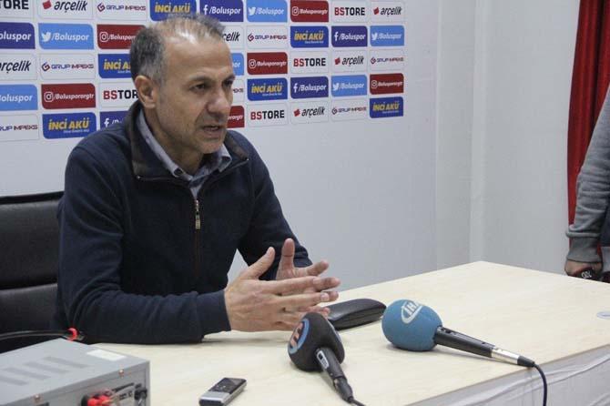 Boluspor - Şanlıurfaspor maçının ardından