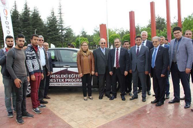 Tofaş, Mesleki Eğitime Destek İçin Gaziantep'te