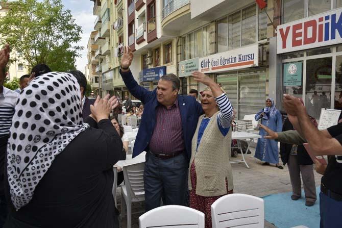 Başkan Çerçi'den hafta sonu mesaisi
