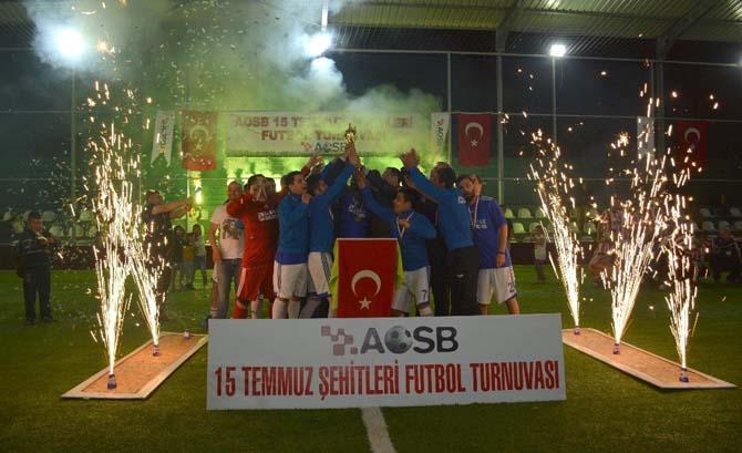 AOSB Ligi'nde şampiyon 3'üncü kez Sarmak Kompresör