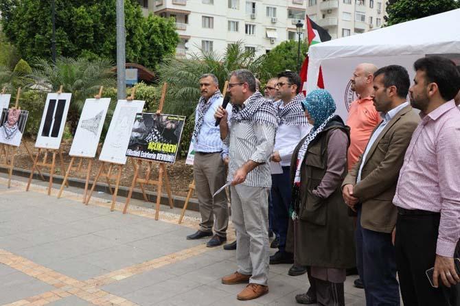 Filistinli mahkumlar için yarı zamanlı açlık grevi