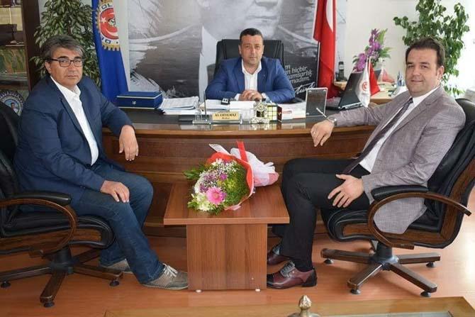 AK Parti'den Demir Yol İş Sendikasına ziyaret