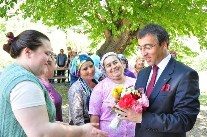 Kaymakam Arslan İkizköy'ü ziyaret etti