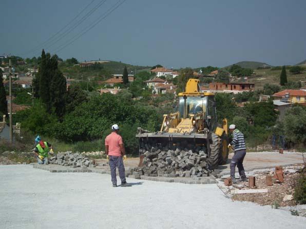 Didim Belediyesinin mahalle yatırımları sürüyor