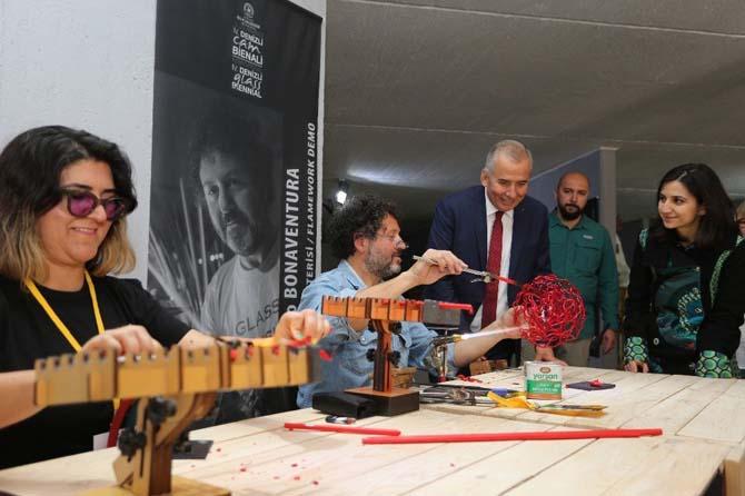 4. Uluslararası Denizli Cam Bienali tamamlandı
