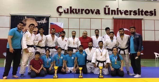 GAÜN Judo Erkek Takımı Türkiye Şampiyonu