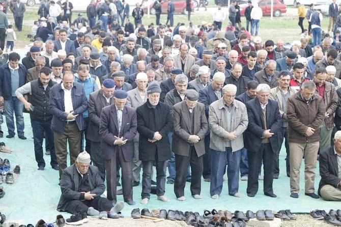 Başkan Duruay, yağmur duasına katıldı