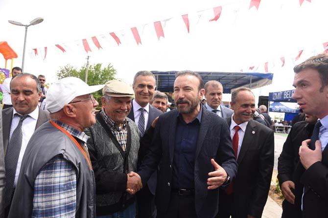 Başkan Doğan, Mecidiye köyü tören alanını açtı