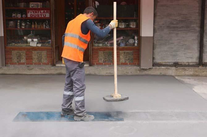 Baskı beton çalışmaları beğenildi