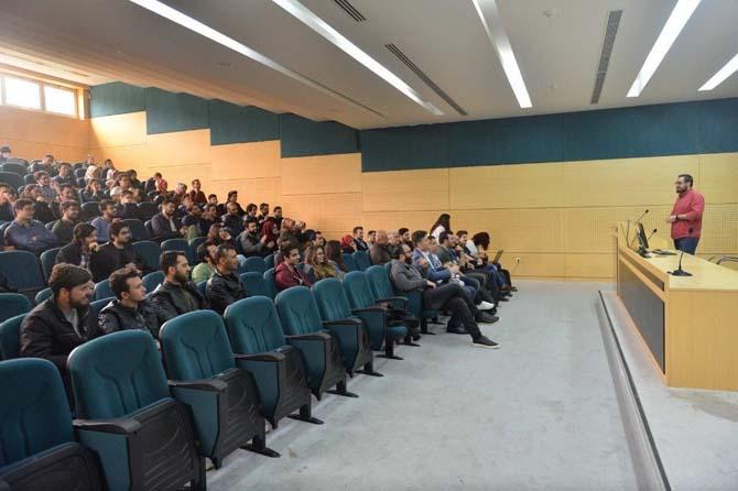 SAÜ'de 'Siber Güvenlik Semineri' düzenlendi