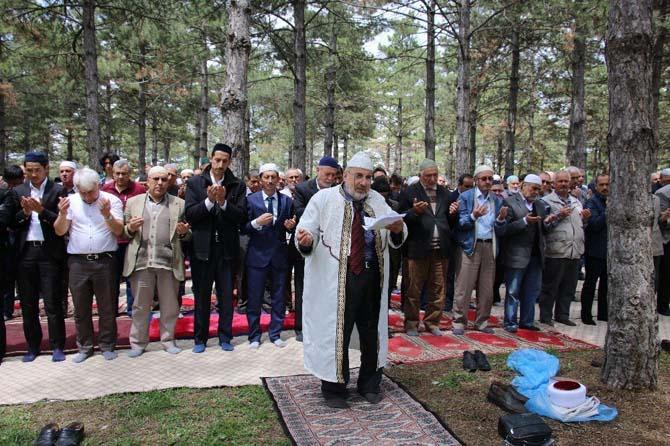 Satılmışoğlu mahallesinde yağmur duası