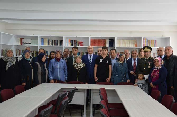 Şehit Uzman Çavuş Musa Saydam adına kütüphane açıldı