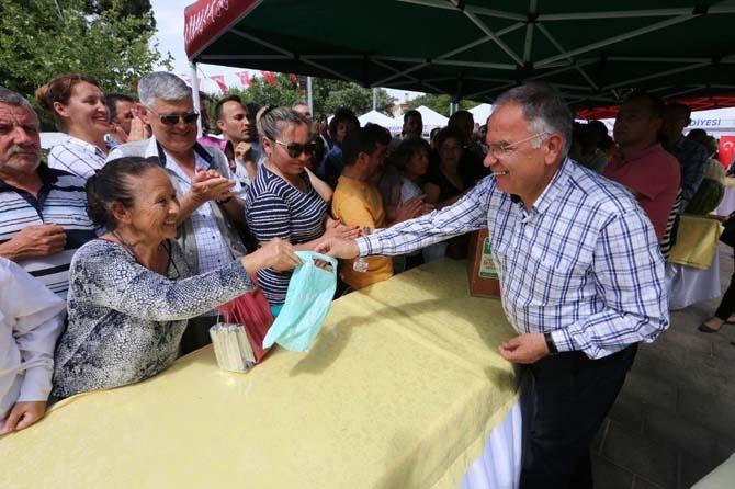 Kantaron Festivali'ne büyük ilgi