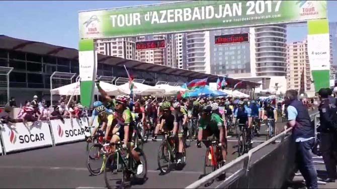 Torku Şekerspor'un bisikletçisi Ahmet Örken Azerbaycan'da ikinci oldu