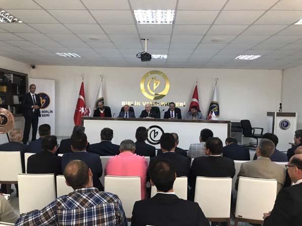 Meclis Başkanı İsmail Kahraman Birlik Vakfı'nı Ziyaret Etti