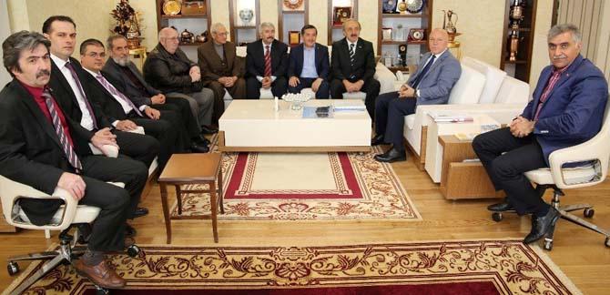 """Başkan Sekmen: """"Tarihi ve kültürel mirasımızı vakıflara borçluyuz"""""""