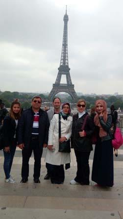 Yüreğirli aşçılar Paris'te