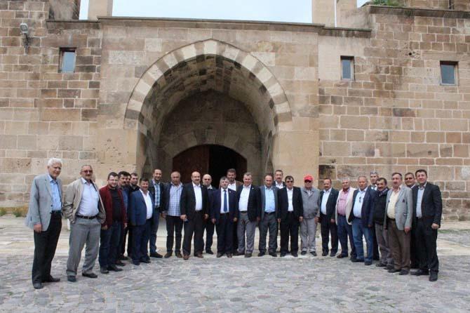 ESOB yönetim kurulu toplantısı İhsaniye'de yapıldı