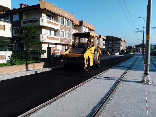 Akçaray'ın geçtiği yollar asfaltlanıyor