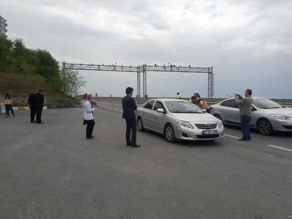 Alaplı'da 'Yaşama Yol Ver' projesi şoförlere anlatıldı