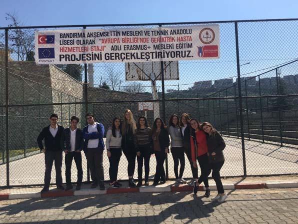 Bandırmalı öğrenciler Avrupa'ya gidiyor