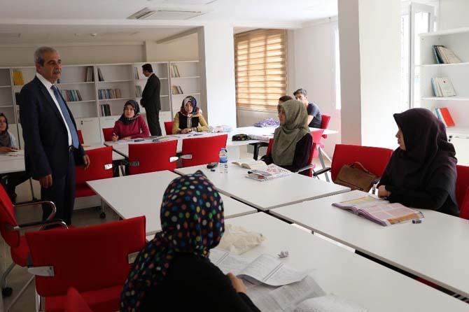 Başkan Demirkol çalışma salonlarını ziyaret etti