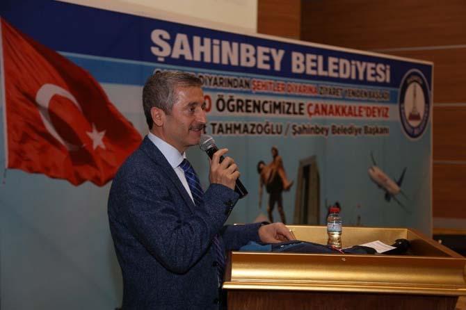 """Belediye Başkanı Tahmazoğlu, """"Ecdadımıza layık olmamız gerekiyor"""""""