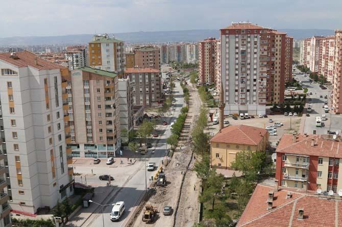 Halef Hoca Caddesi yenileniyor