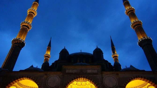 Selimiye Camisinde son Ramazan