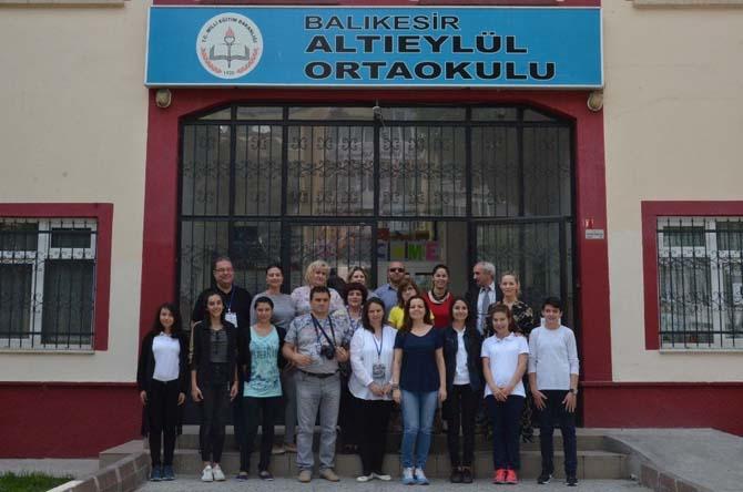 Yabancı öğretmenler okullara hayran kaldı