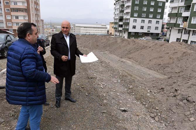 Yakutiye Belediyesi, yol ve sosyal donatı çalışmalarına devam ediyor