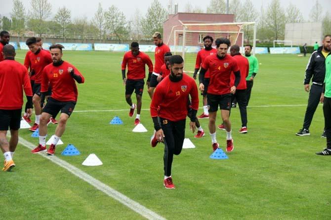 Kayserispor, Atiker Konyaspor maçı hazırlıklarına devam ediyor