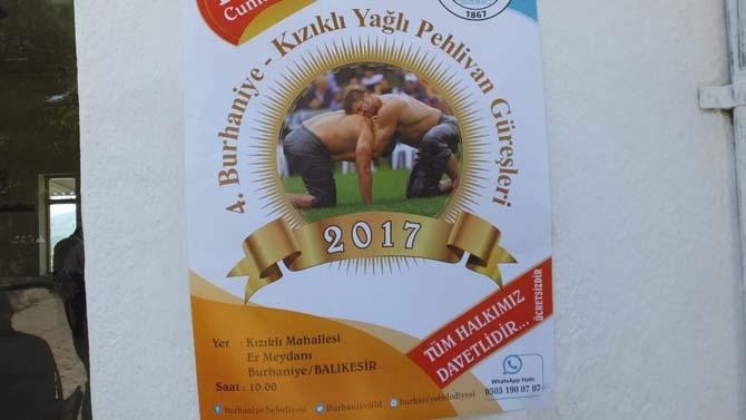 Burhaniye'de Kızıklı güreşleri Cumartesi günü yapılacak